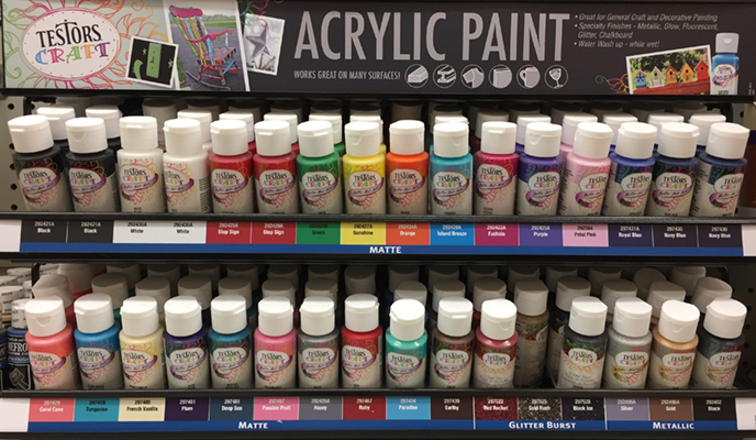 acrylic paint - hobby paints