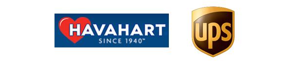 Havahart logo & UPS logo